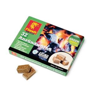 Aanmaakblokjes hout-wax 32 stuks