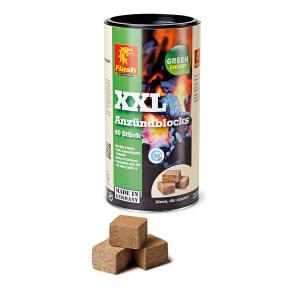 Aanmaakblokjes hout-was XXL