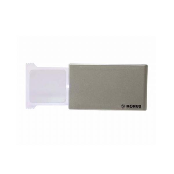Pocket vergrootglas 2X met LED Verlichting   Handige kleine loep