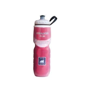 Polar Bottle 0.6L Geïsoleerde Bidon Rood