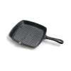Gietijzeren grillpan vierkant 21x21cm