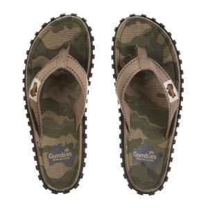 Gumbies Flip Flop Army-Camo Teenslipper