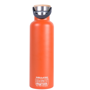360° Vacuüm Thermosfles 0.75L Oranje