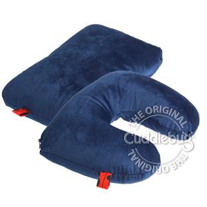 Cuddlebug 2 in 1 reiskussen Blauw