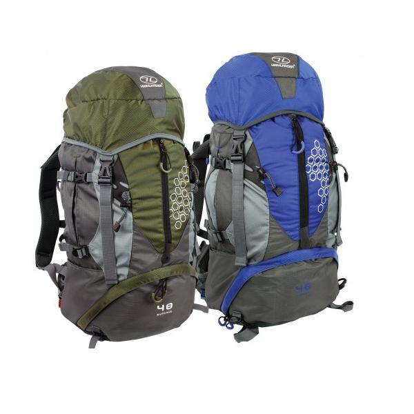 b6e6535a787 Highlander Summit 40L Backpack | Met gratis regenhoes