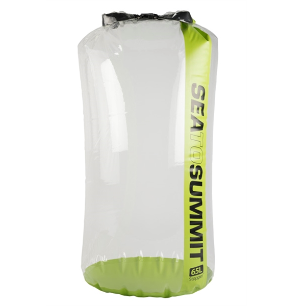 Sea to Summit Stopper Clear Dry Bag 65L Groen