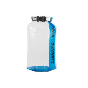 Sea to Summit Stopper Clear Dry Bag 8L Blauw