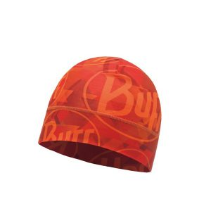 BUFF® Muts Microfiber 1 Layer Hat Tip Logo Orange Fluor
