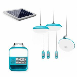 BioLite SolarHome 620 Off Grid verlichting set op zonne-energie