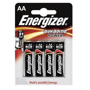 ENERGIZER POWER AA batterij (4)
