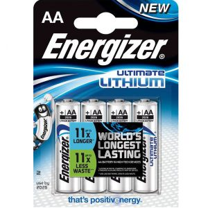 ENERGIZER ULTIMATE LITHIUM AA (4)
