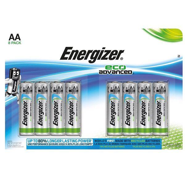 Energizer EcoAdvanced AA (8)