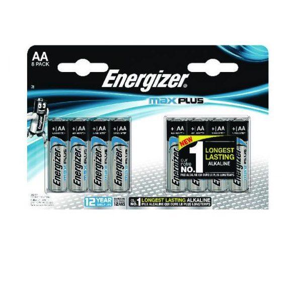 Energizer Max Plus AA Penlite batterij 8 stuks