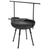 Barebones Cowbow Firepit Grill System