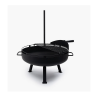Barebones Cowbow Firepit Grill System Small