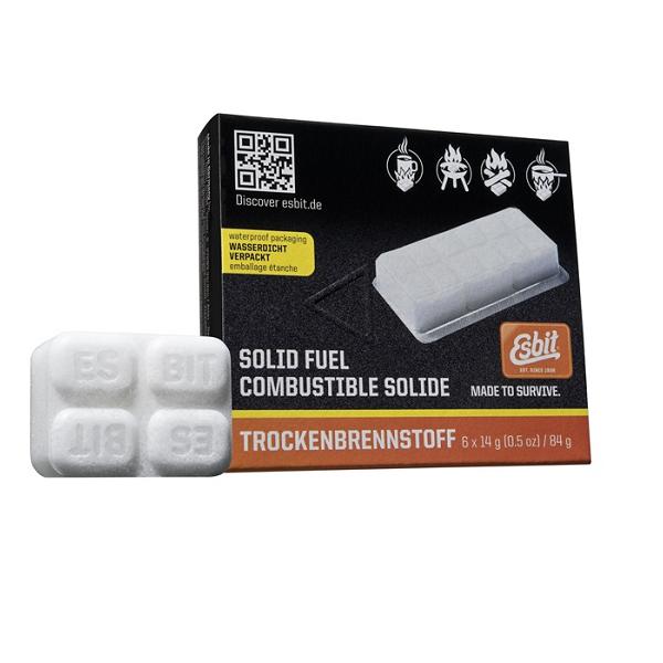 Esbit blokjes Solid Fuel 6x14 gr