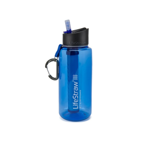 LifeStraw Go 1L Waterfilter fles Blue