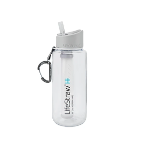 LifeStraw Go 1L Waterfilter fles Clear