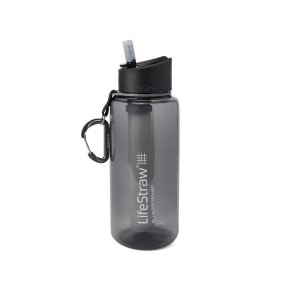 LifeStraw Go 1L Waterfilter fles grey
