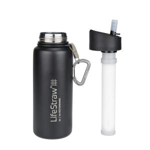 LifeStraw Go Stainless Steel Waterfilter fles Black