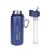 LifeStraw Go Stainless Steel Waterfilter fles Blue