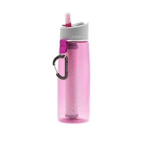LifeStraw Go Waterfilter fles pink