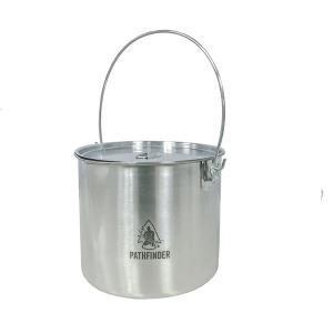 Pathfinder RVS Bushpot met deksel 3.5 L