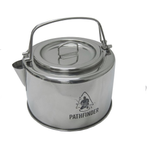 Pathfinder RVS Ketel met Filter 1.2L