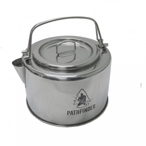 Pathfinder RVS Ketel met Filter 1.2L